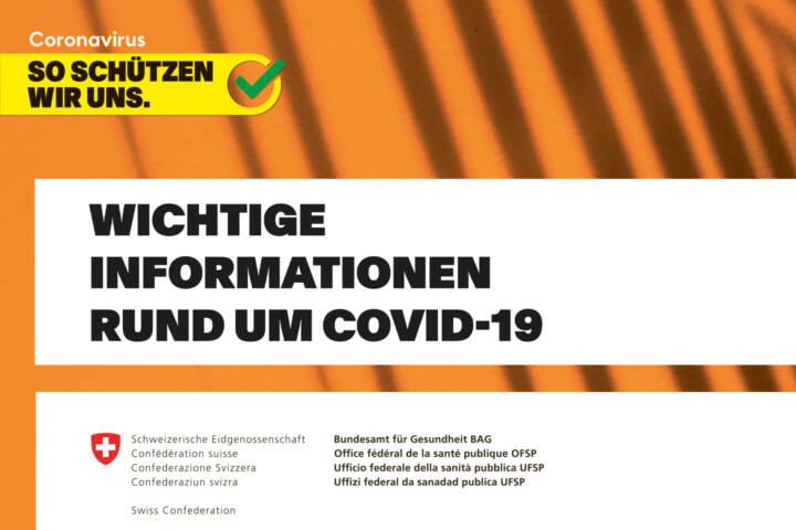 BAG Schutzkonzept Covid-19