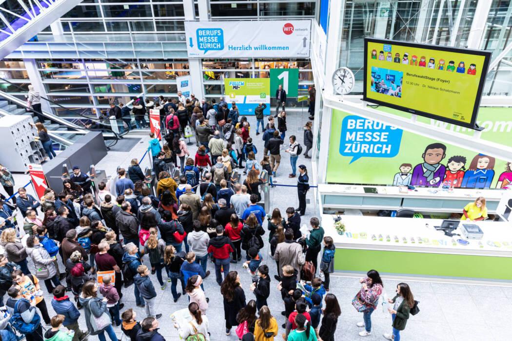Messe Zürich Berufsmesse Zürich