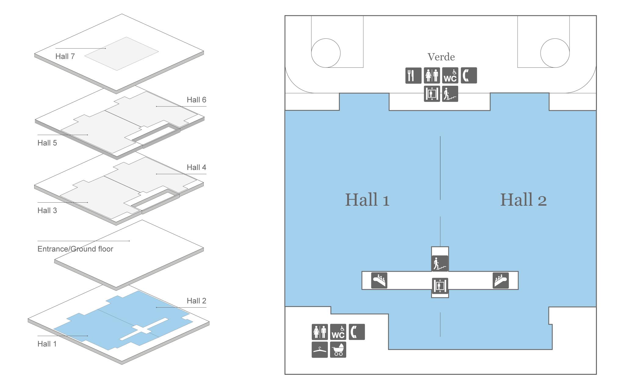 Messe Zurich Halls 1 + 2