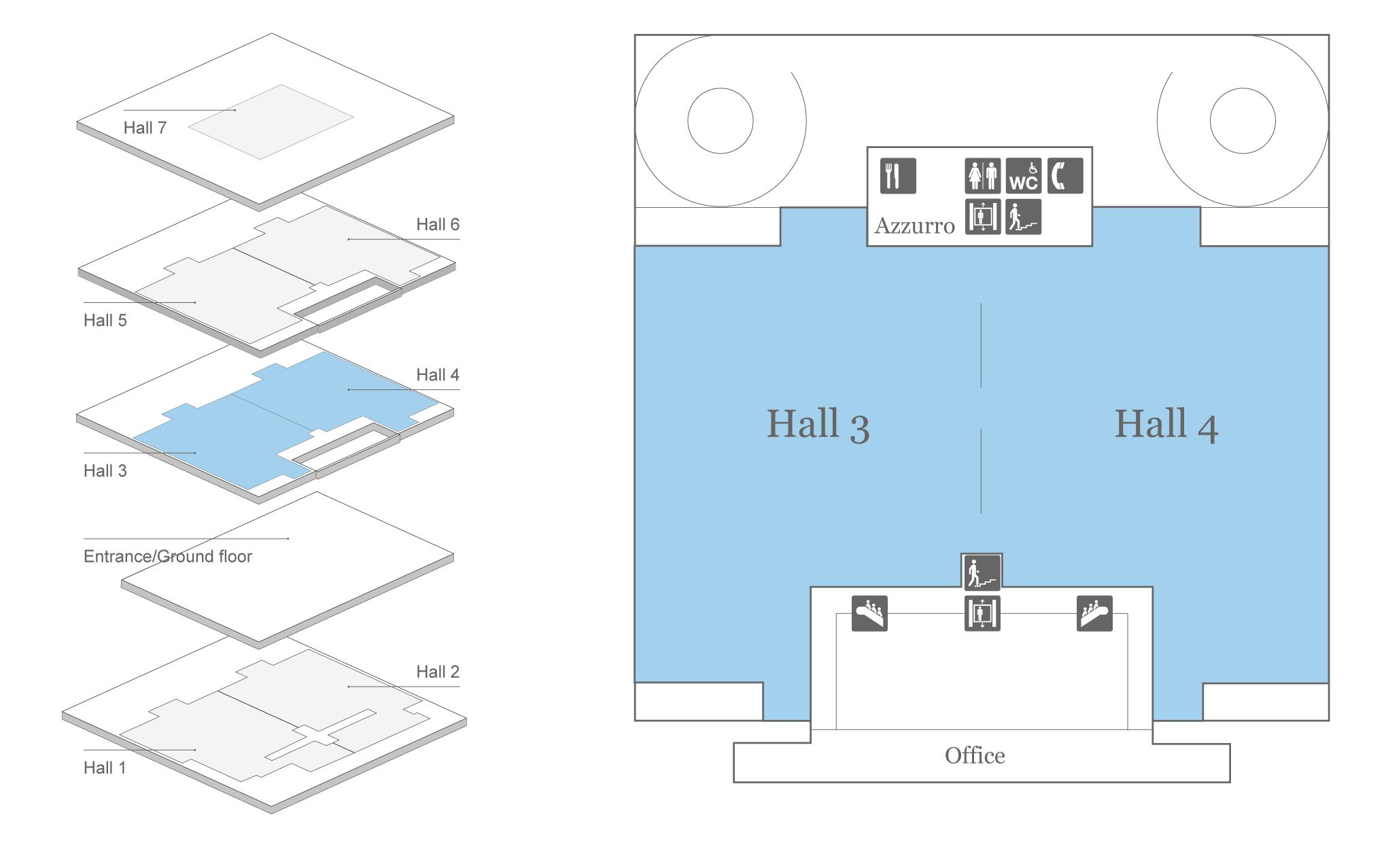 Messe Zurich Hall 3 + 4