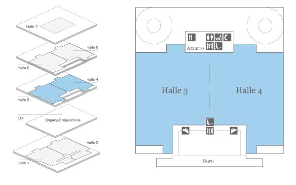 Messe Zürich Halle 3 + 4